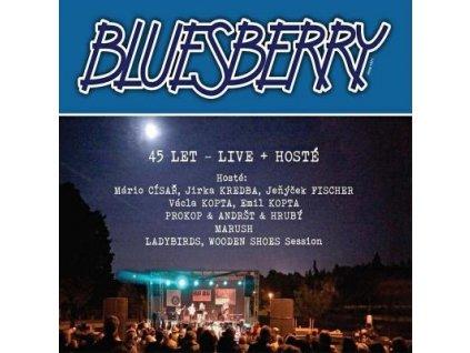 2CD Bluesberry  - 45 let - LIVE + hosté