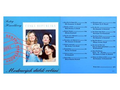 CD Sestry Havelkovy - Modravých dálek volání