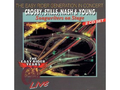 2 CD Crosby, Stills, Nash & Young - Songwriters on Stage - Live  (Nota Blue  1993)