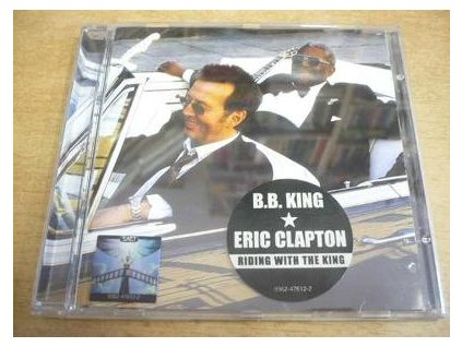 CD B.B.KING - ERIC CLAPTON - Riding with the King