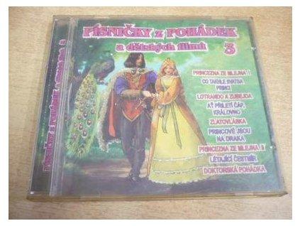 CD Písničky z pohádek a dětských filmů 3