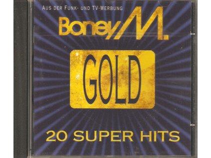 CD BONEY M - GOLD 20 SUPER HITS