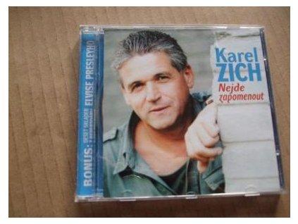 CD KAREL ZICH - NEJDE ZAPOMENOUT