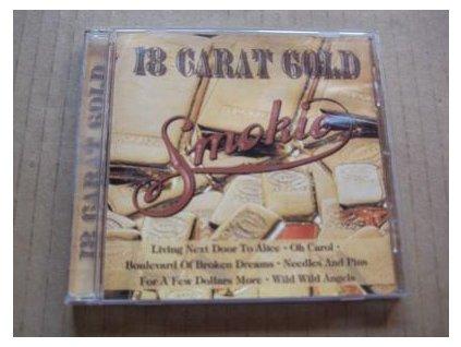 CD SMOKIE - 18 GOLD CARAT  výběr