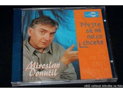 CD - Miroslav Donutil - Ptejte se mě na co chcete...