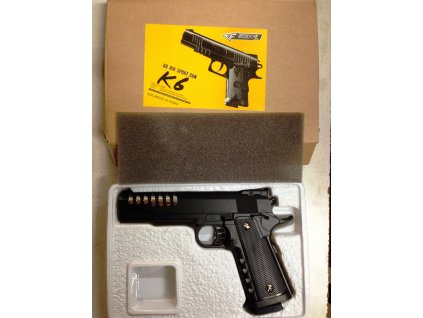 Airsoftová pistole K-6 kov