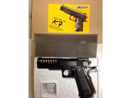 Airsoftová pistole K-7 kov