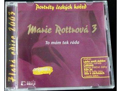 CD - Marie Rottrová - To mám tak ráda