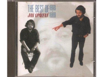 CD Jan Spálený - The Best of Jan Spálený 1981 - 1991