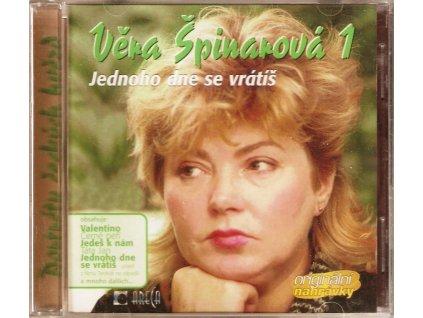 CD Věra Špinarová 1 - Jednoho dne se vrátíš