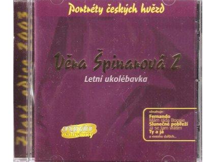 CD Věra Špinarová 2 - Letní ukolébavka