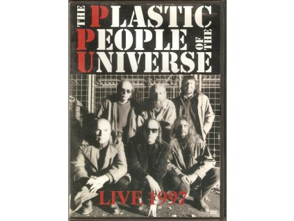 DVD The Plastic People of The Universe - LIVE 1997