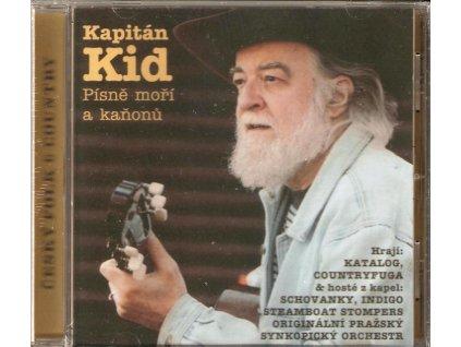 CD Kapitán Kid - Písně moří a kaňonů