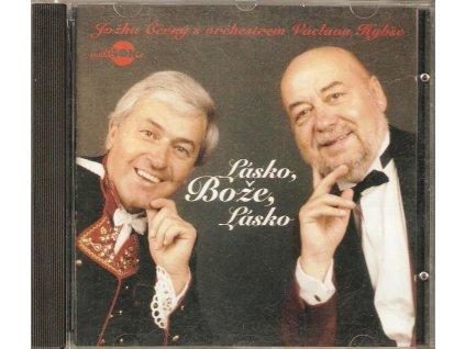 CD Jožka Černý s orchestrem Václava Hybše - Lásko, Bože, Lásko