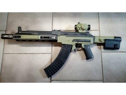 Airsoftová strojní puška Green