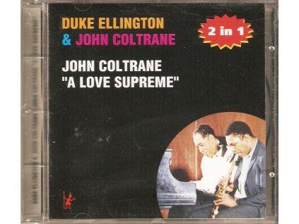 CD Duke Ellington & John Coltrane - 2 in 1,  John Coltrane - A love Supreme