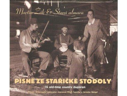 CD Martin Žák a Stará almara - Písně ze stařičké stodoly. 16 old -time dupáren