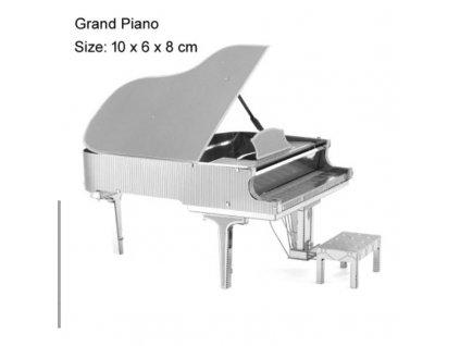Kovový model - klavír