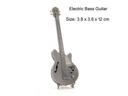 Kovový model - baskytara