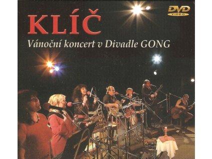 DVD KLÍČ - Vánoční koncert v Divadle GONG