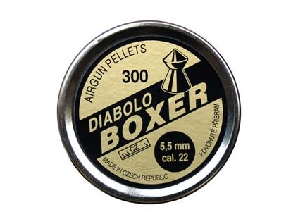 Diabolo Boxer 300, 5,5mm (.22)