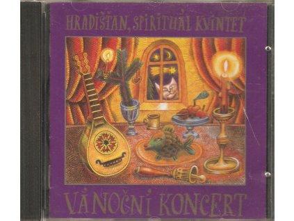 CD Hradišťan. Spirituál Kvintet - Vánoční koncert