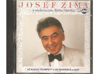 CD JOSEF ZÍMA s orchestrem Jiřího Sládka - TAK NA TĚCH TVEJCH ŠEDESÁT