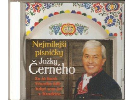 CD Nejmilejší písničky Jožky Černého