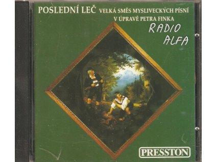 CD POSLEDNÍ LEČ - Velká směs mysliveckých písní v úpravě Petra Finka