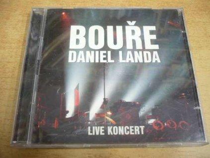 2 CD-SET DANIEL LANDA - Bouře. Live koncert.