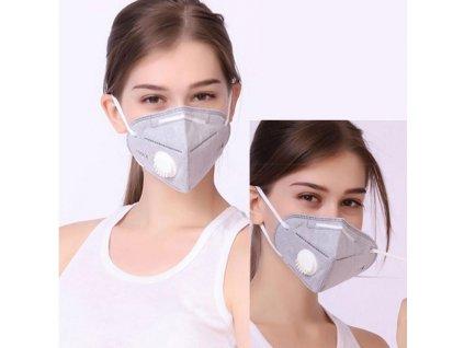 Respirační maska s vylepšenou verzí - respirátor, rouška.