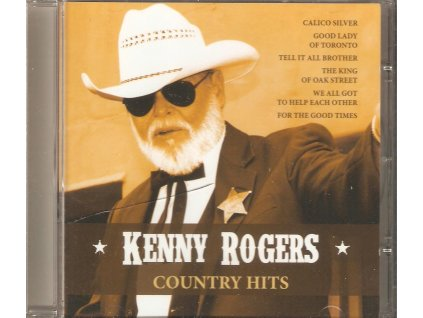 CD KENNY ROGERS - COUNTRY HITS