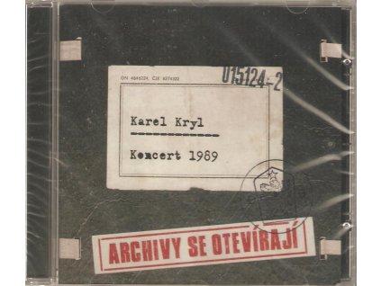 CD Karel Kryl Koncert 1989 - ARCHÍVY SE OTEVÍRAJÍ