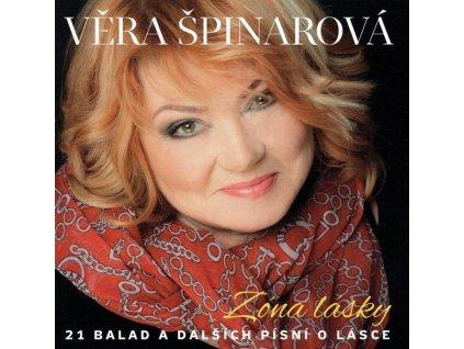 CD Věra Špinarová - Zóna lásky