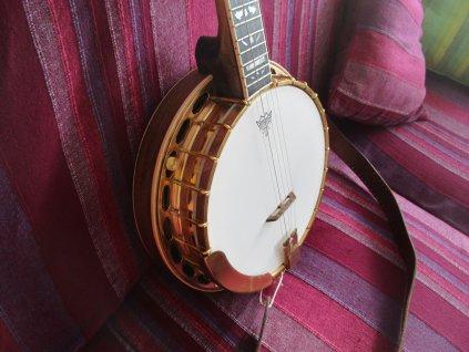 Banjo pětistrunné Novák zlaté luxus