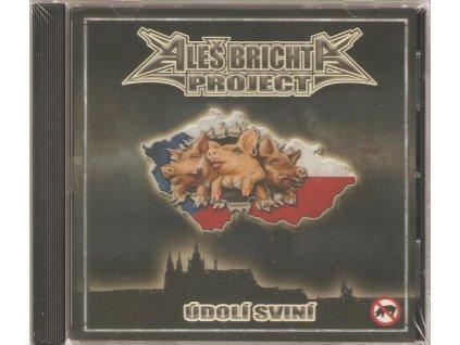 CD ALEŠ BRICHTA PROJECT - ÚDOLÍ SVINÍ originál zabalené