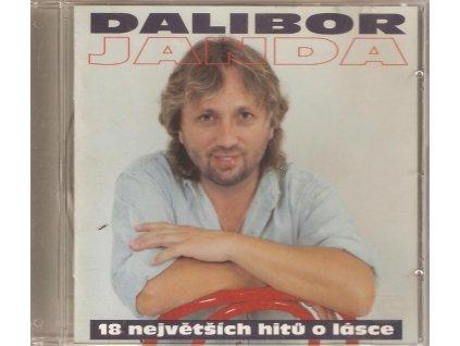 CD DALIBOR JANDA - 18 největších hitů o lásce