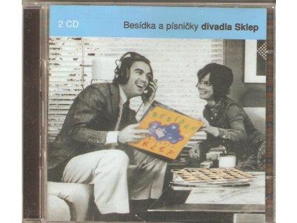 2CD Divadlo SKLEP - Besídka a písničky divadla Sklep