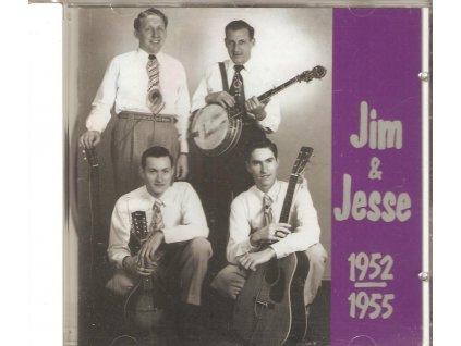 CD Jim &  Jesse  - 1952-1955 bluegrass