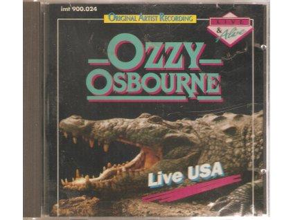 CD OZZY OSBOURNE - LIVE USA