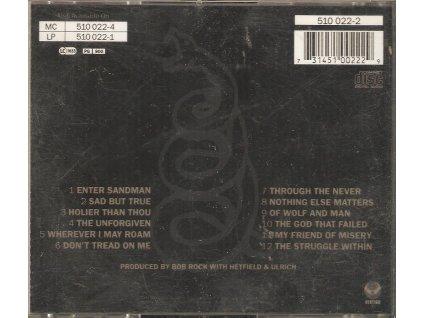 CD METALLICA - VERTIGO -  1991