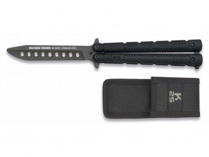Nůž motýlek tréninkový RUI/K25 černý