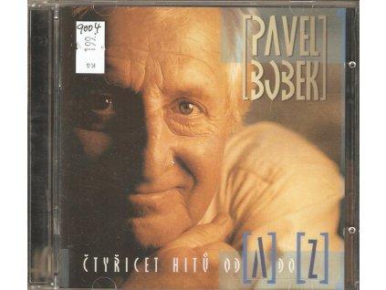 2CD PAVEL BOBEK - ČTYŘICET HITŮ OD A DO Z