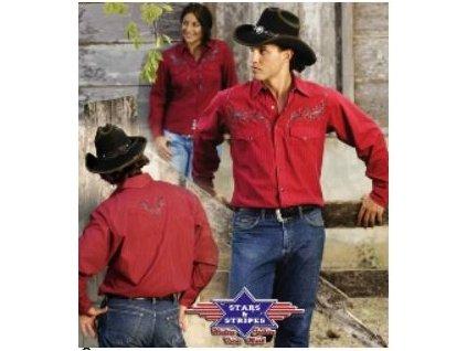 Westernová košile CLYDE XXL