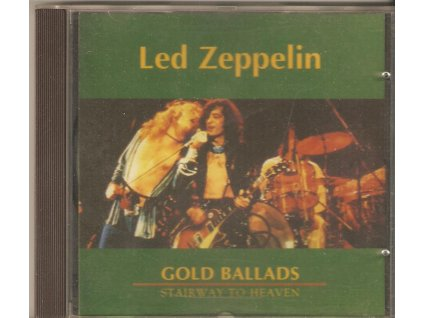 CD Led Zeppelin - GOLD BALLADS - STAIRWAY TO HEAVEN