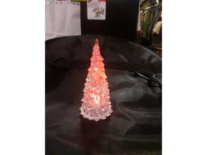 Vánoční stromeček stolní - svítí, bliká, mění barvy