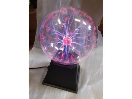 Magická plazma lampa 15cm průměr koule