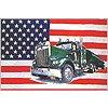 USA s kamionem