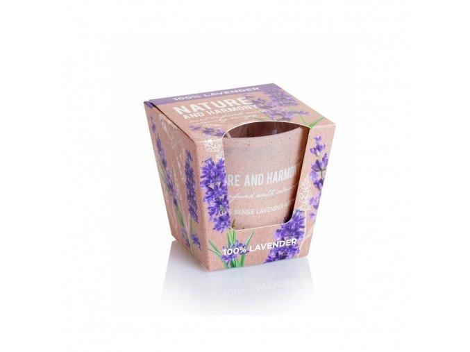 bartek candles svicka nature harmony 100 lavender