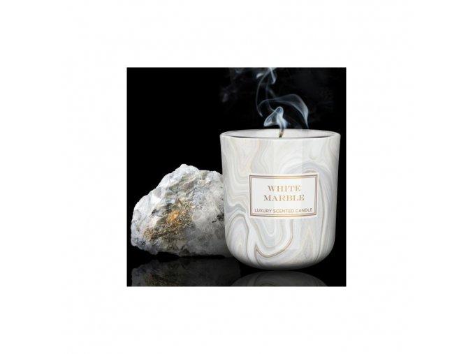 bartek candles svicka mramor white marble